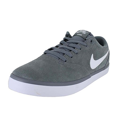 Nike Men's SB Check Solarsoft Skate Shoe Grey 10 D(M) US