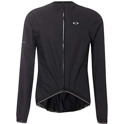 Oakley Waterproof Men's MTB Cycling Jackets - Blackout/Large
