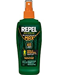 Repel 94101 6-Ounce Sportsmen Max Insect Repellent 40-Percent...