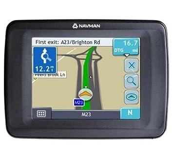 Navman F10 Slimline Navigation System: Amazon co uk: Electronics