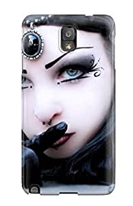 MaritzaKentDiaz Design High Quality Goth Girl Cover Case With Excellent Style For Galaxy Note 3