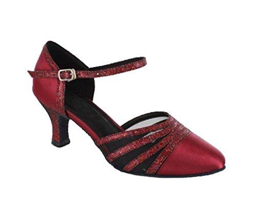 TDA - salón mujer 6cm Wine Red
