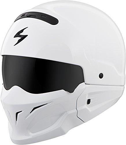 (Scorpion Covert Helmet (LARGE) (WHITE))