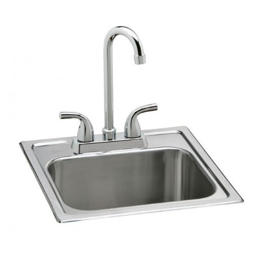 Elkay Neptune Top Mount Stainless Steel Bar Sink Set by ELKAY