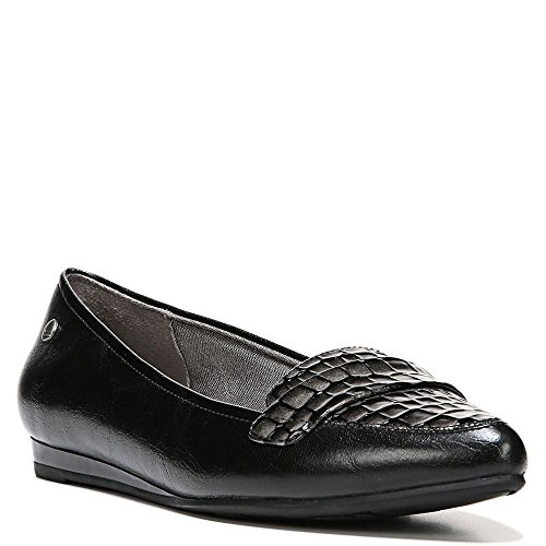 Life Stride Mujeres Qwin Loafer Black Polyurethane