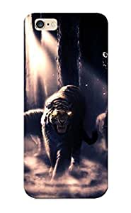 BBTsHS-2012-SFeUo Hugetree Compatible With Case Cover For SamSung Galaxy S4 Mini Dark Forest Animals Tigers Evil Owls Artwork Bears Monkeys Lions