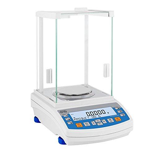 Radwag AS 220.R2 - Balanza analítica, plástico ABS, color blanco y azul
