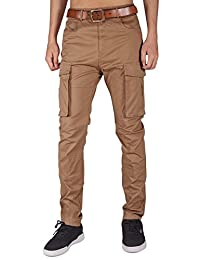Italy Morn Men's Chino Cargo Casual Pants Combat Work