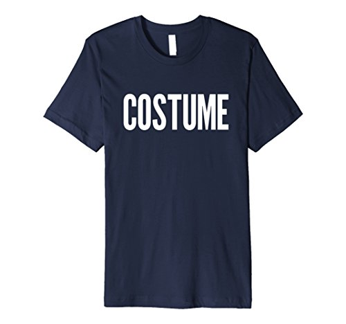 Mens PREMIUM FUNNY HALLOWEEN COSTUME T-SHIRT [OUTFIT & GIFT IDEA] 2XL Navy