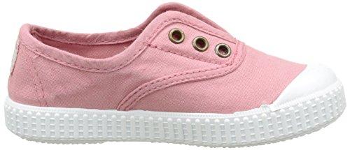 victoria Unisex-Kinder Inglesa Lona Tintada Punt Sneaker Pink (170 Nude)