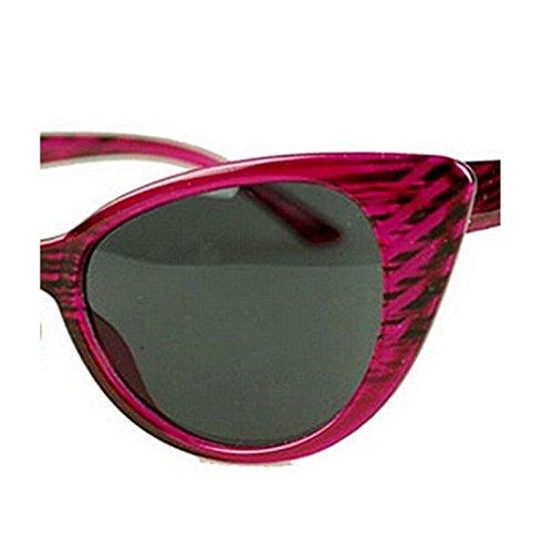 Delicado Vintage Sunglasses Cat Grain Party RFGTYBDD Purple Classic para Beach Wood Seaside Women Eye Sunglasses Steampunk Sunglasses dTc0H