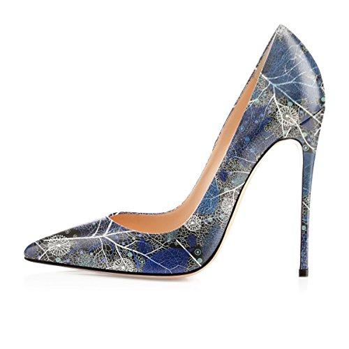 Scarpe Chiuse da Donna col Soireelady Tacco Donna d Eleganti Multi Scarpe Donna Scarpe 4xqTnwIF