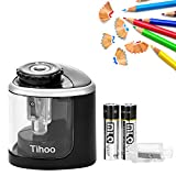 Electric Pencil Sharpener,Battery-Powered,Batteries Included,High-Speed Automatic Sharpen,for Home Office School Classroom Adults Kids,Best for No.2/Colored Wood Pencils(6-8mm)