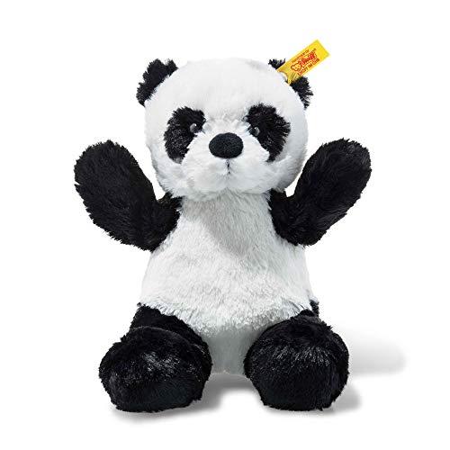(Steiff Soft and Cuddly Black/White Panda - 8