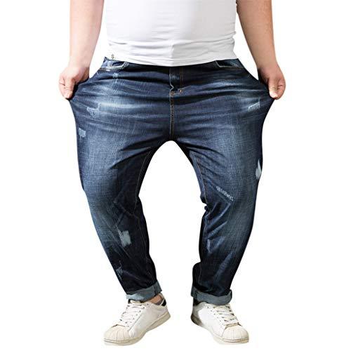 - Goddessvan Mens Relaxed Fit Boot Cut Jeans Pants Comfy Stretch Stylish Slim Fit Denim