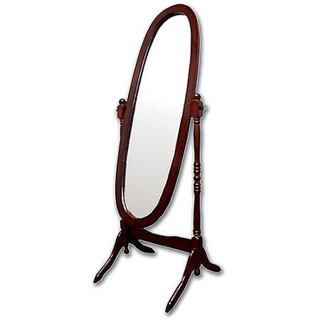 Cheval Floor Full Body Length Mirrors (Floor Length, Cherry)