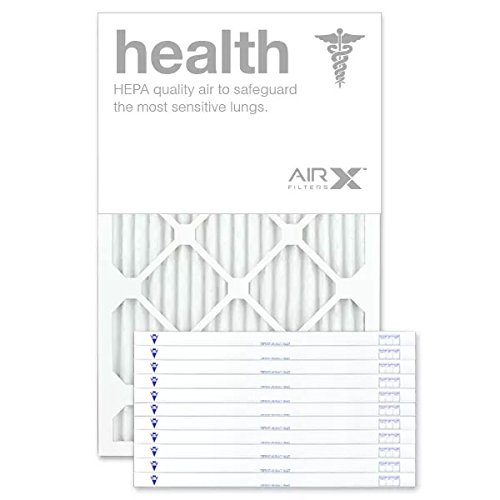 AIRx Filters Health 16x22x1 Air Filter MERV 13 AC Furnace Pleated Air Filter Replacement Box of 12, Made in the USA by AIRx Filters (Image #6)