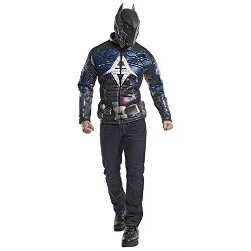 [Warner Bros. Men's Batman Arkham Knight Muscle Chest Costume X-Large] (Batman Costumes Arkham Knight)