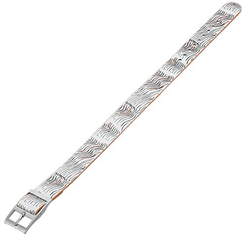 Fossil S141081 14mm Canvas Multi-Color Watch Strap (Fossil Leather Band Replacement)