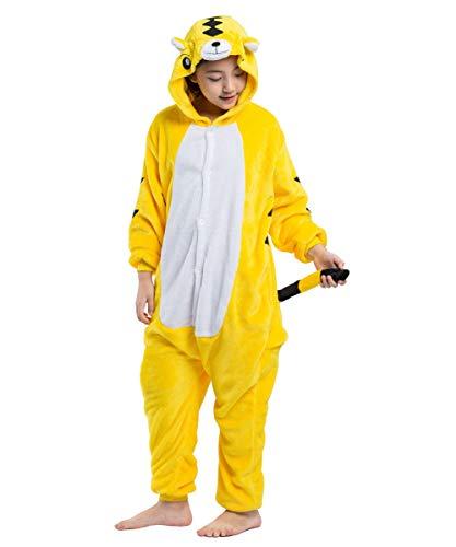 Anime Tiger Costume Onesie Cosplay Unisex Giallo Akaayuko Kids Tuta Pigiama wqtgpA0
