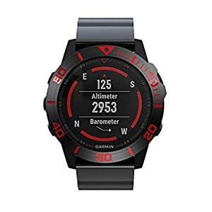 Bezel Ring for Garmin Fenix 5X Watch, Songsier Stainless Steel Watch Bezel Ring Adhesive Cover Anti Scratch & Collision…