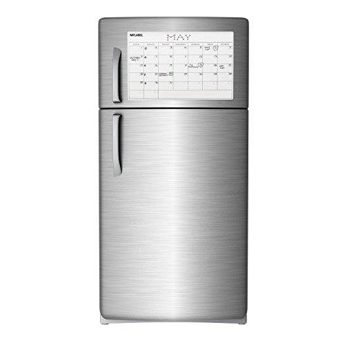 Blank Magnetic Calendar Refrigerator : Mflabel quot x monthly dry erase magnet fridge calendar
