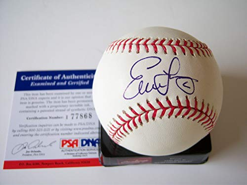 Evan Longoria Tampabay Devilrays PSA/DNAdna Autographed Signed Baseball - Certified Authentic -