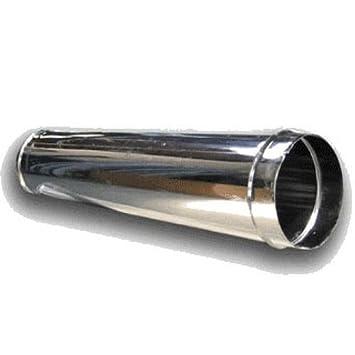 CANNA FUMARIA TUBO ACCIAIO INOX AISI 304 MT 1 x 0,5 mm -TUTTE LE ...