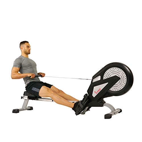 Sunny-Health-Fitness-SF-RW5623-Air-Rowing-Machine-Rower-wLCD-Monitor