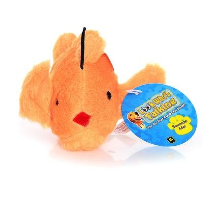MultiPet 27035 Look Who's Talking Goldfish Plush Toy, My Pet Supplies