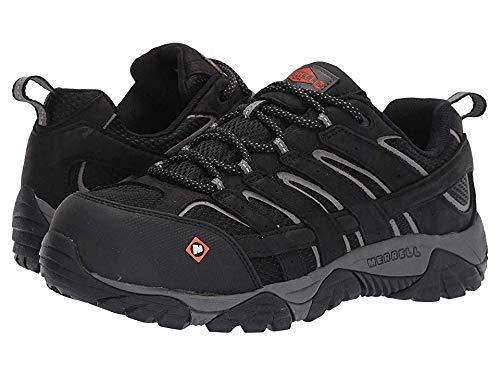 (Merrell Work Men's Moab Vertex Vent Composite Toe Black 13 W US)