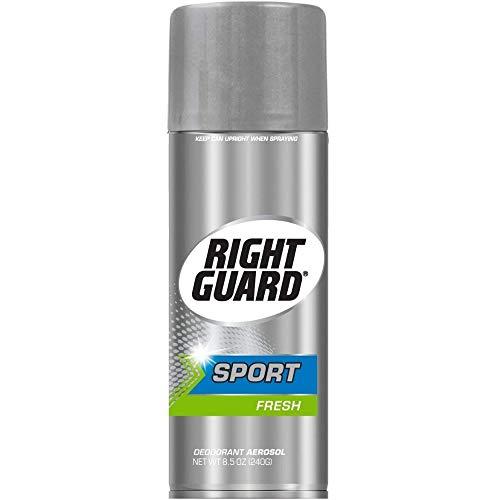 Right Guard Sport Deodorant Aerosol Spray, Fresh, 8.5 Oz, 12 Pack