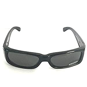 DSO Throttle Shiny Black - Polarized Smoke Lens