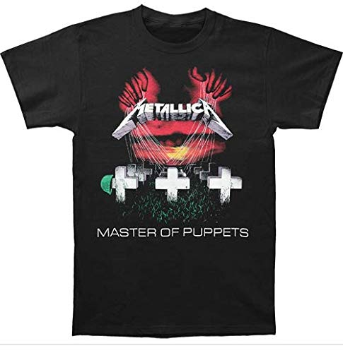 Bravado Men's Metallica-Master Of Puppets T-Shirt Custom For Men and Women