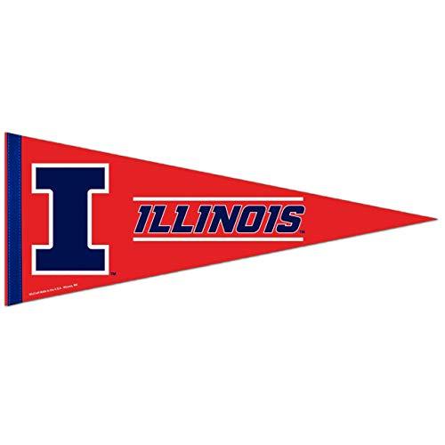 Wincraft Illinois Fighting Illini NCAA 12X30 Premium Pennant - Team Color,