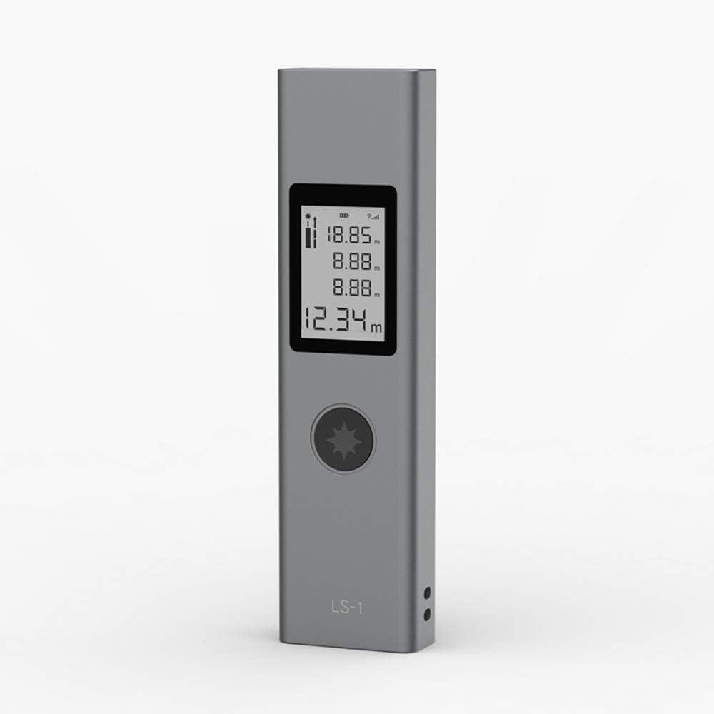 Telémetro láser Hhiming-40 mm LS-1, Mini telémetro Digital portátil de Alta precisión con Pantalla de Color retroiluminada, hogar, la construcción y Las Industrias