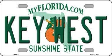 Smart Blonde LP-6010 Key West Florida Novelty Metal License - Stores West Key