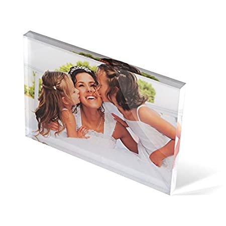 Personalised Acrylic Photo Block - A6 (4
