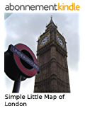 Simple Little Map of London (English Edition)
