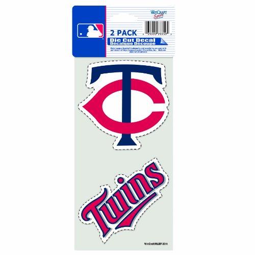 MLB Minnesota Twins 2-Piece Die-Cut Decal, 4