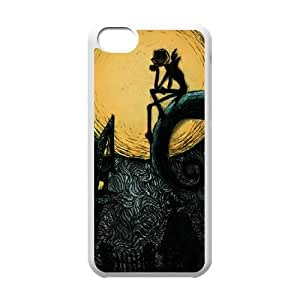 Nightmare Before Christmas iPhone 5c Cell Phone Case White xlb-109473