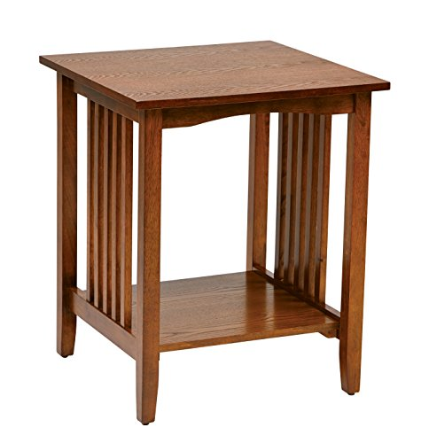 mission style end tables Amazon.com: Office Star Sierra Solid Wood Side Table, Ash Finish  mission style end tables