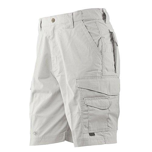Tru-Spec Mens 24-7 Series Shorts Stone Rip-Stop, 36