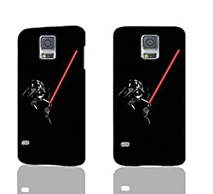Darth Vader Pattern Image - Protective 3d Rough Case Cover - Hard Plastic 3D Case - For Samsung Galaxy S5 i9600