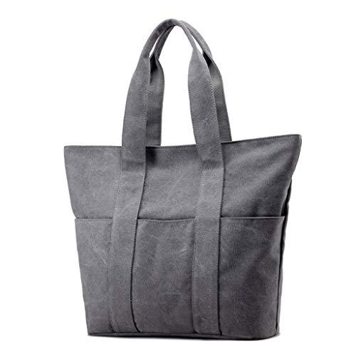 Bandoulière Satchel Toile Dames Tendance Épaule Gray Casual Messenger Mode Sacs Voyage CHENGYI Bag De 6w7qtxvx