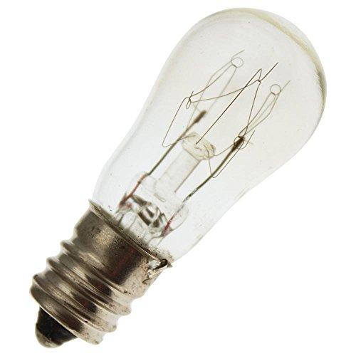 Industrial Performance 10S6/10 230V, 10 Watt, S6, Candelabra Screw (E12) Base Light Bulb (1 Bulb) ()