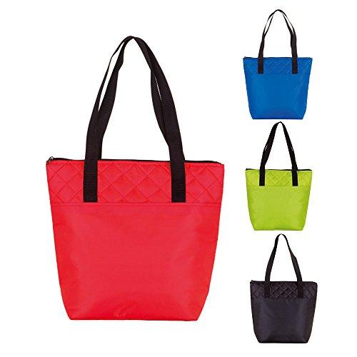 Koozie reutilizable Tote-Bolsa para comidas Cooler Shopping Bag negro