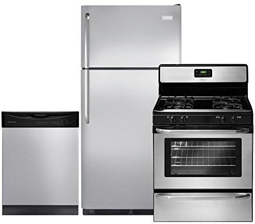 Frigidaire FFTR18G2QS Refrigerator FFGF3047LS Freestanding