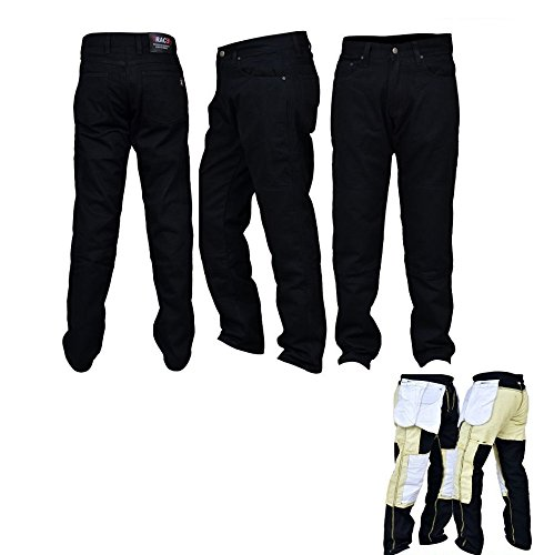 RAC3 Original Mens Motorbike Protective Armoured Lining Blue Denim Jeans Trousers