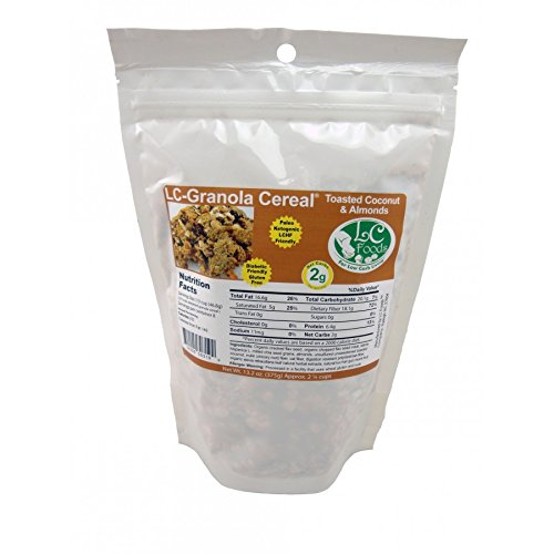 Amazon.com: Low Carb Granola Cereal Mix